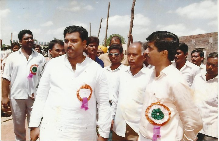 Our Principal With Shri. Jaydatta Kshirsagar